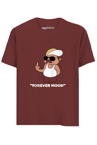 Forever Mood Half Sleeves T-Shirt