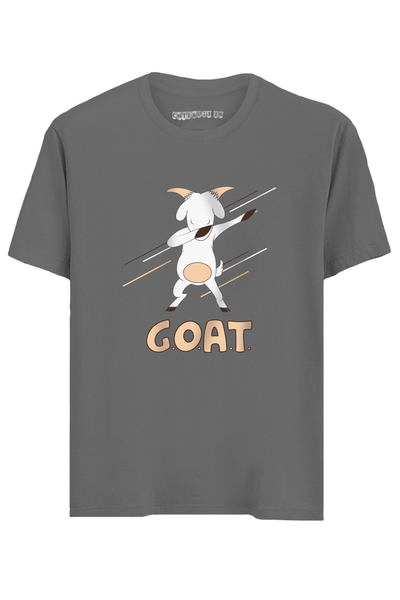 G.O.A.T. Half Sleeves T-Shirt