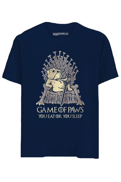 Game of Paws Half Sleeves T-Shirt