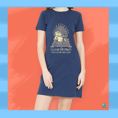 Game of Paws T-Shirt Dress