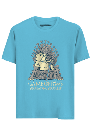 Game of Paws Half Sleeve T-Shirt