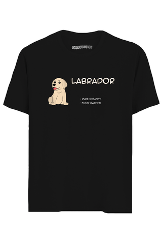 Labrador Half Sleeves T-Shirt