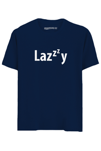 Lazy Half Sleeves T-Shirt