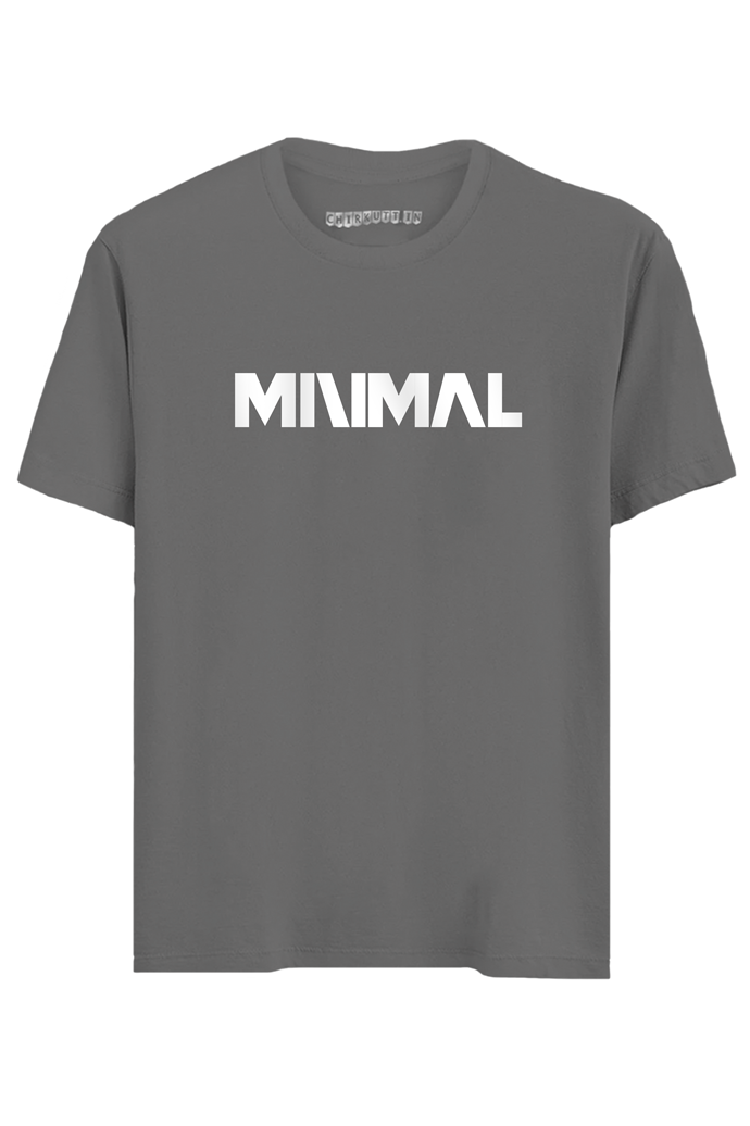 Minimal Half Sleeves T-Shirt