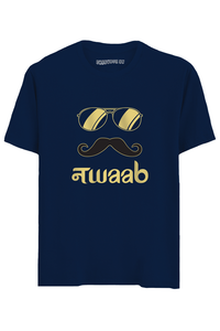 Nawaab Half Sleeves T-Shirt
