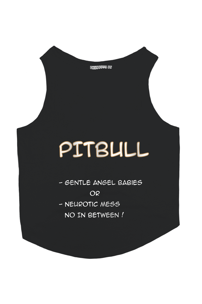 Pitbull Dog T-Shirt