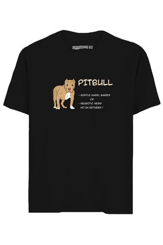 Pitbull Half Sleeves T-Shirt
