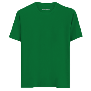 Solid Green Half Sleeves T-Shirt