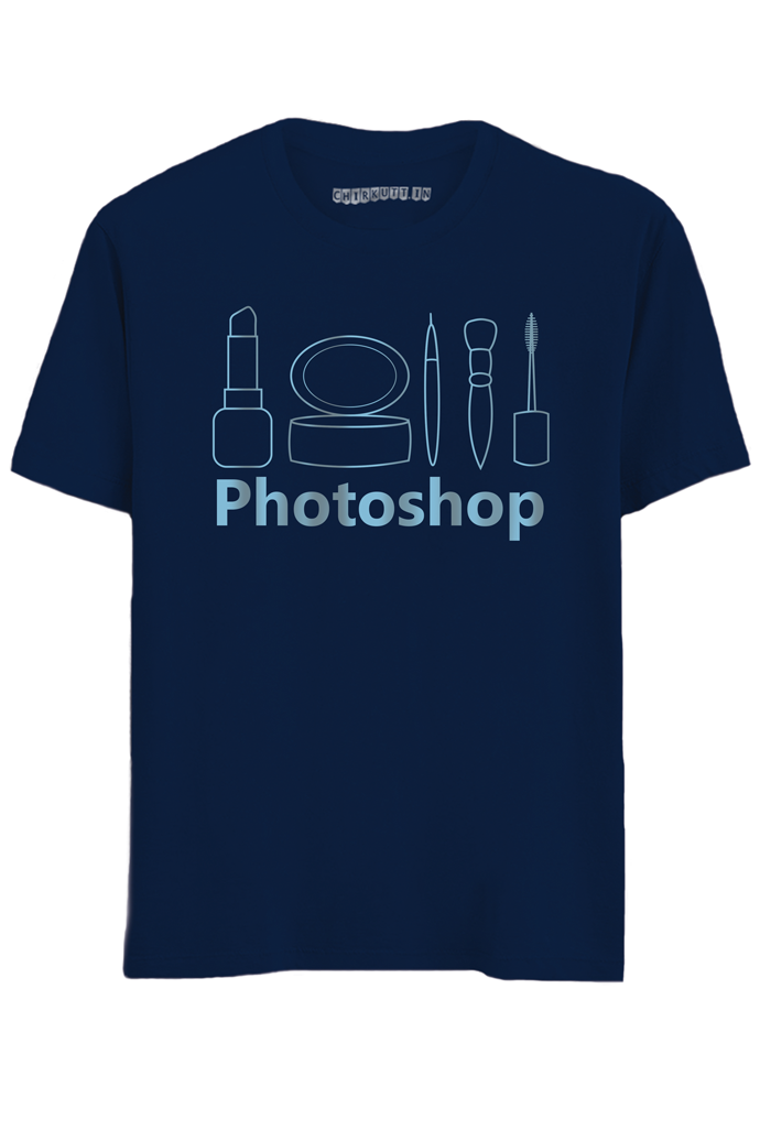 Photoshop Half Sleeves T-Shirt