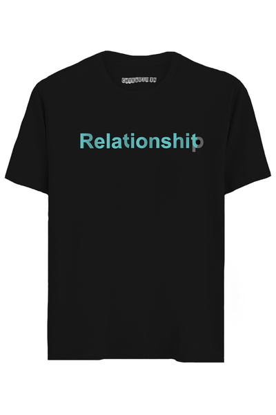 Relationshit Half Sleeves T-Shirt