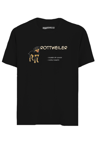 Rottweiler Half Sleeves T-Shirt