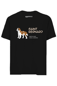 Saint Bernard Half Sleeves T-Shirt