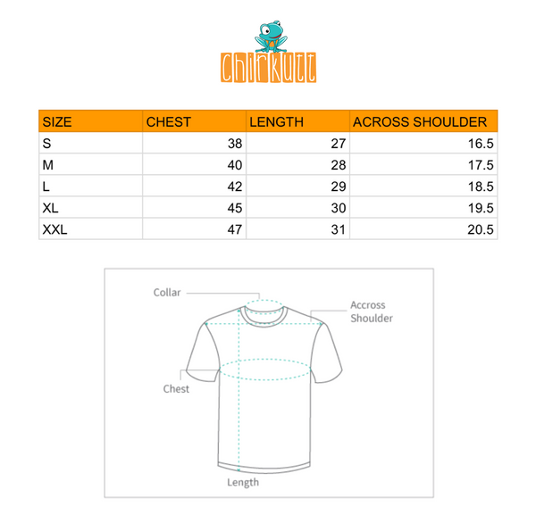 Kaafi Chill Half Sleeve T-Shirt