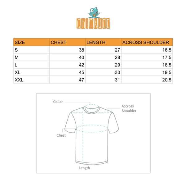 Kadak Half Sleeves T-Shirt