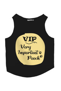 VIP- Very Important Pooch Dog T-Shirt