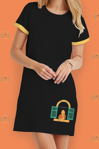 Window T-Shirt Dress