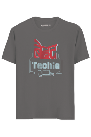 Behadh Techie Half Sleeves T-Shirt