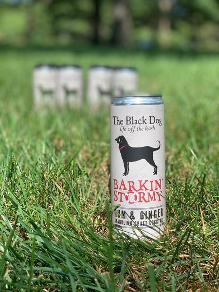 The Black Dog Barkin' Stormy