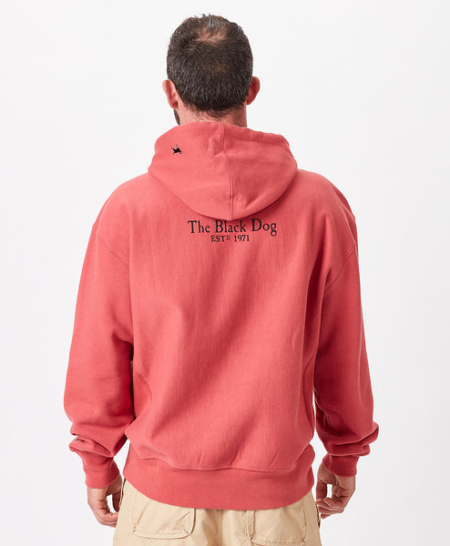 Mens Classic Heavyweight Hooded Sweatshirt