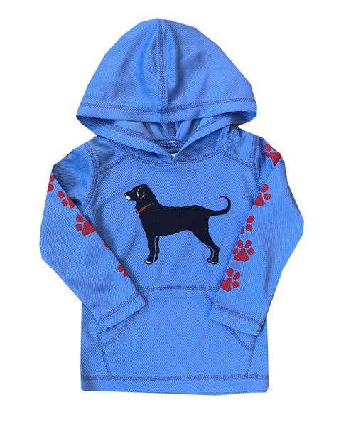 Lil Kids Beachfront Hooded Rashguard