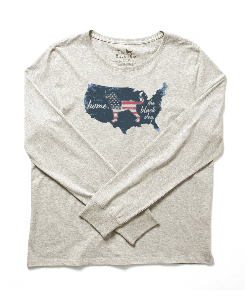 Lil Kids Home Country Longsleeve Tee
