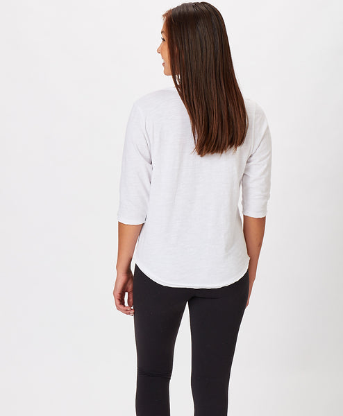 Ladies Pure Vintage Henley