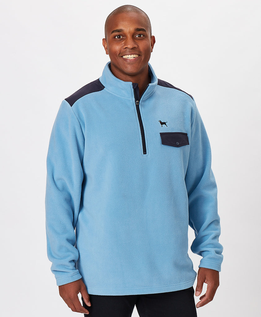 Mens Offshore Fleece Quarterzip