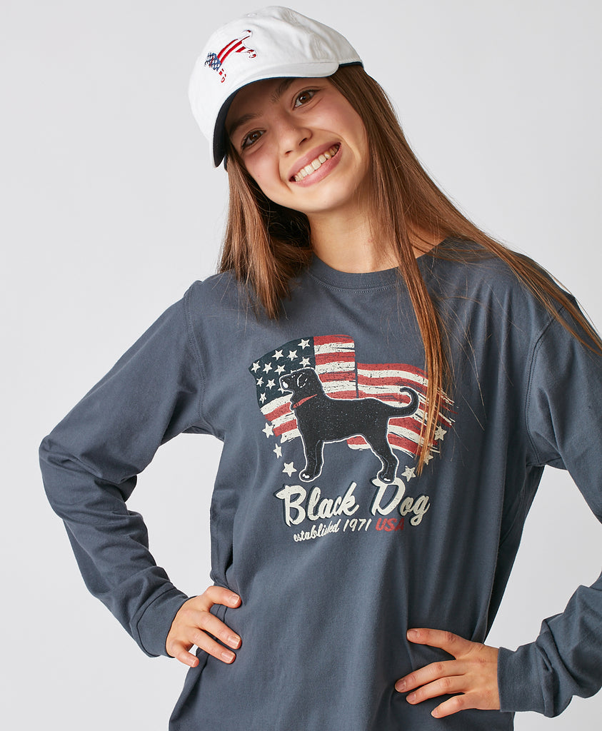 Kids USA Spirit Longsleeve Tee