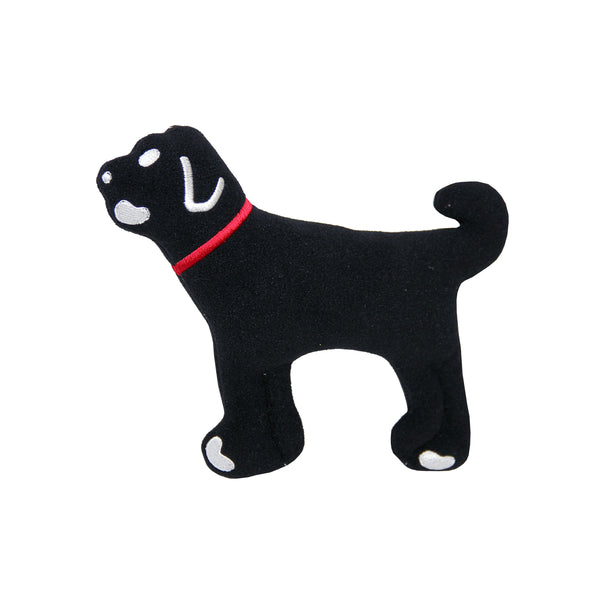 BLACK DOG SQUEAKY TOY