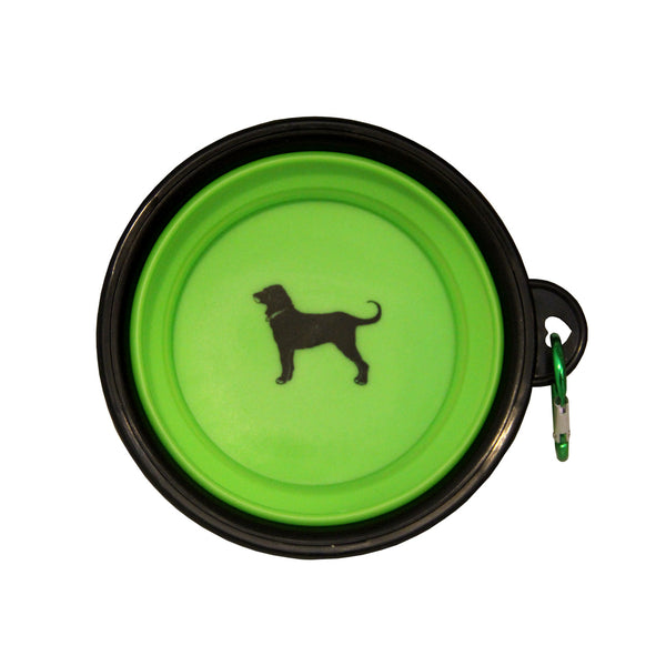 BD PET FEEDING BOWL WITH CARABINER