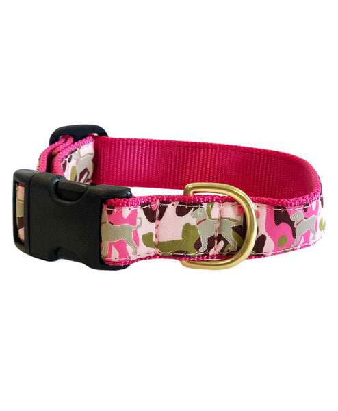 Faded Camo Ribbon Collar