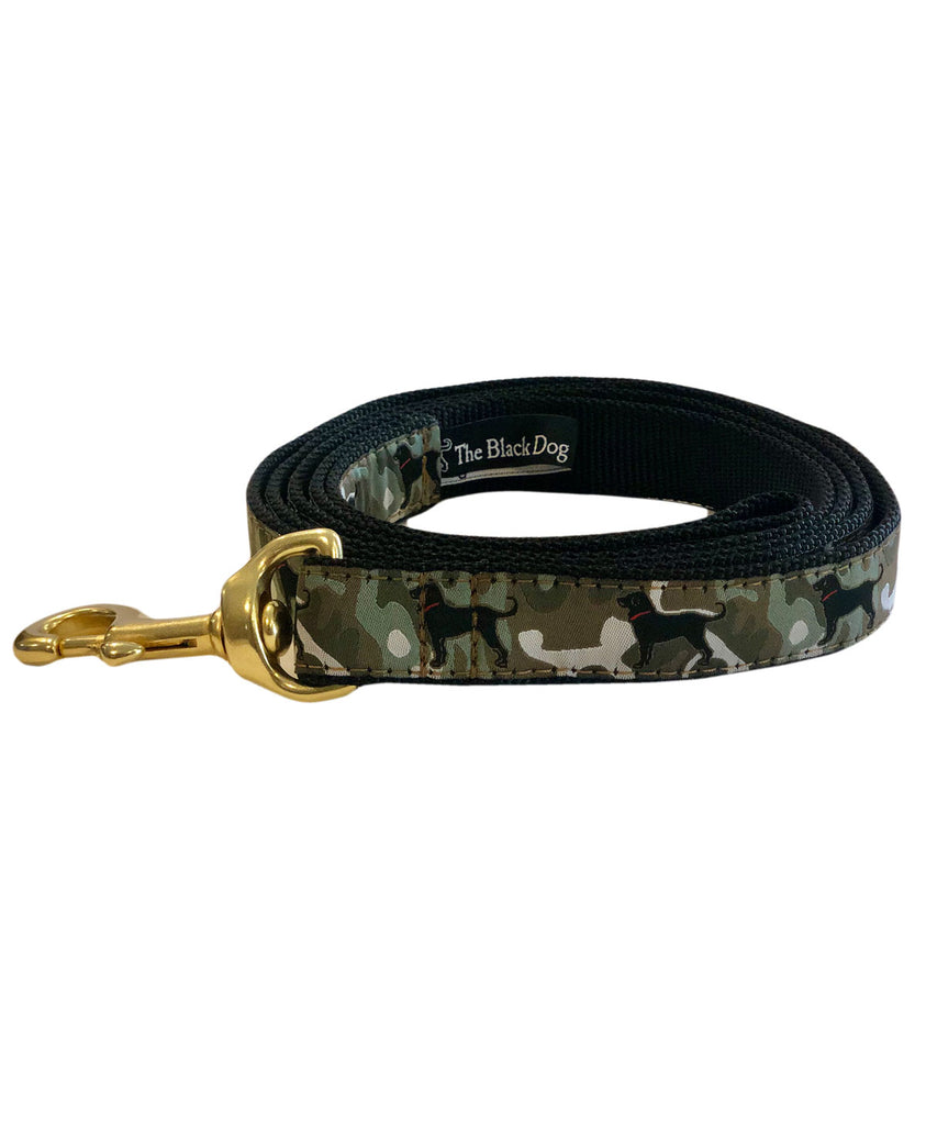 Faded Camo Ribbon Leash