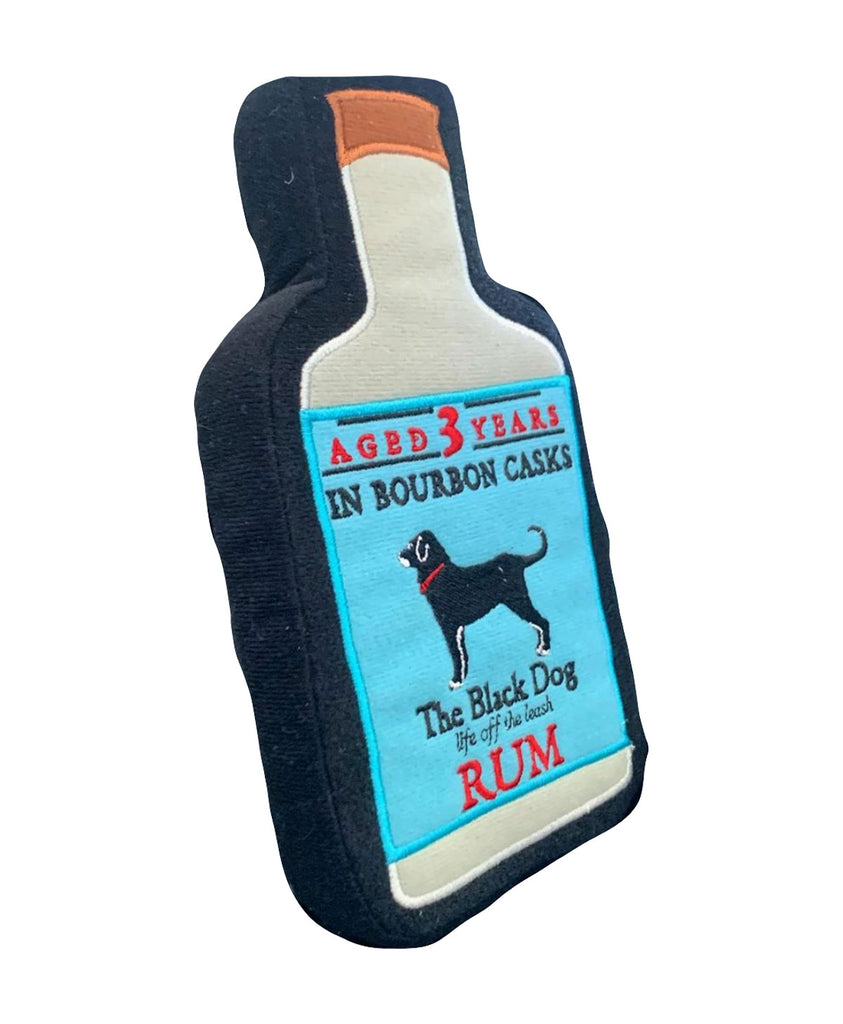Rum Bottle Dog Toy