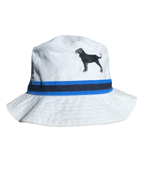 Ladies Premium Striped Bright Bucket Hat