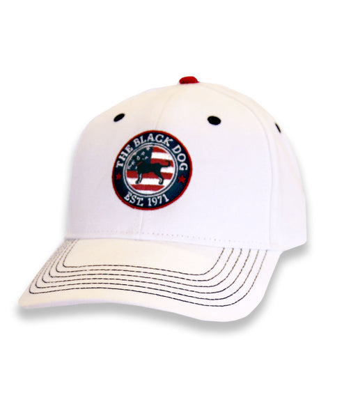 Mens Circle Americana Flag Hat