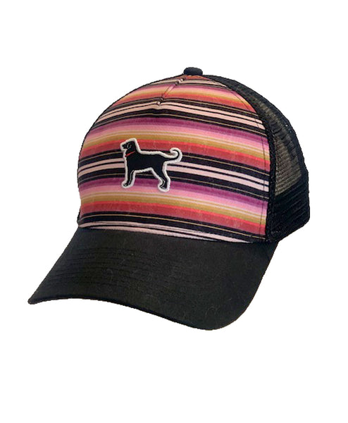 Mens Structured Serape Hat