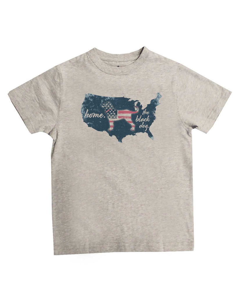 Kids Home Country Shortsleeve Tee