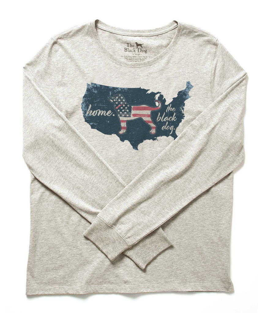Kids Home Country Longlseeve Tee