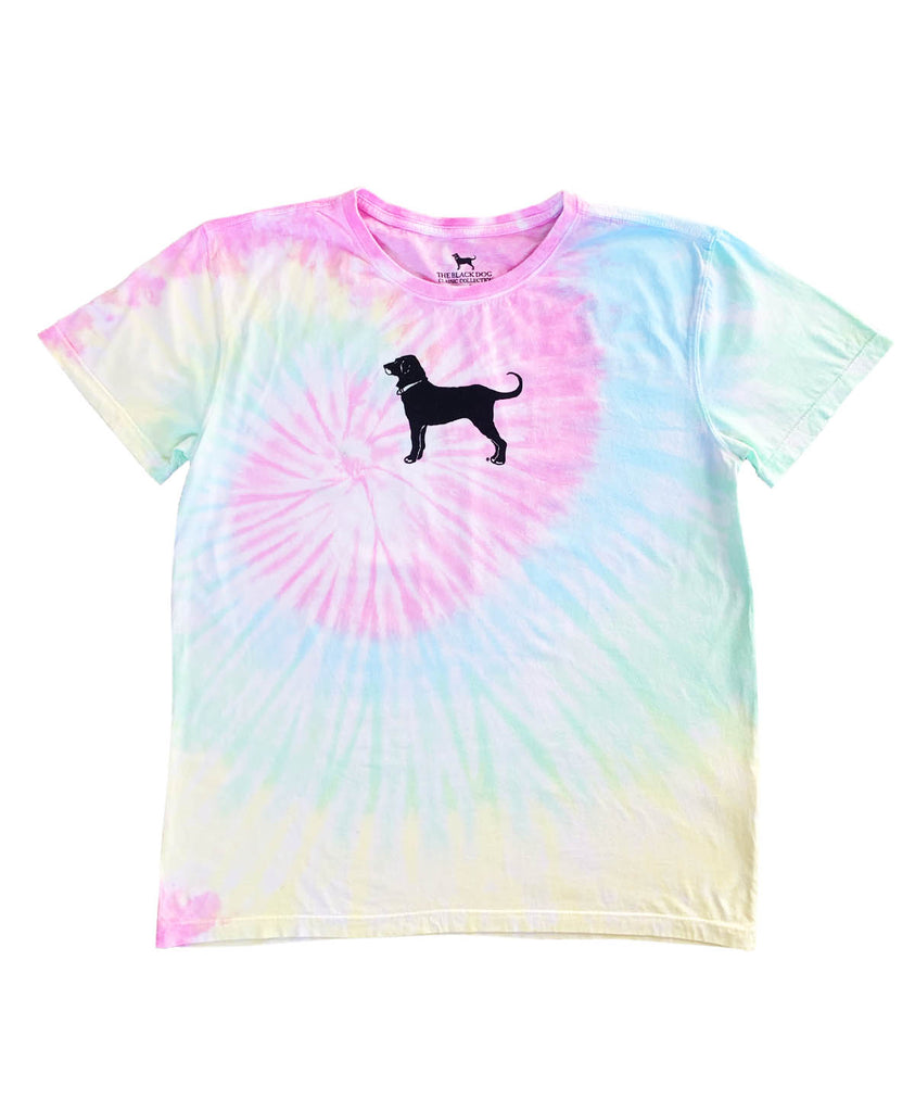 Ladies Cotton Candy Spiral Shortsleeve Tee