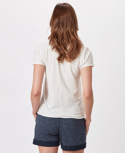 Ladies Edgartown Sail Letter Shortsleeve Crew