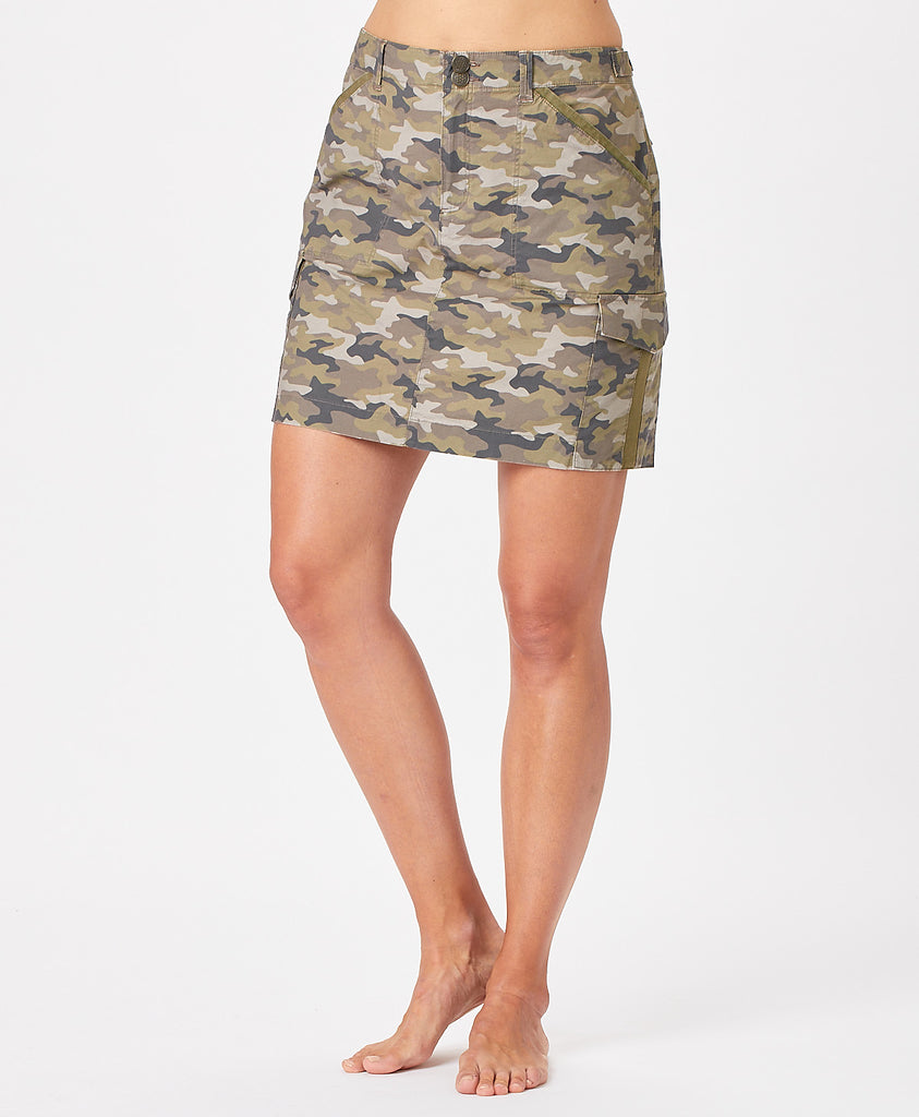 Ladies Cargo Skirt