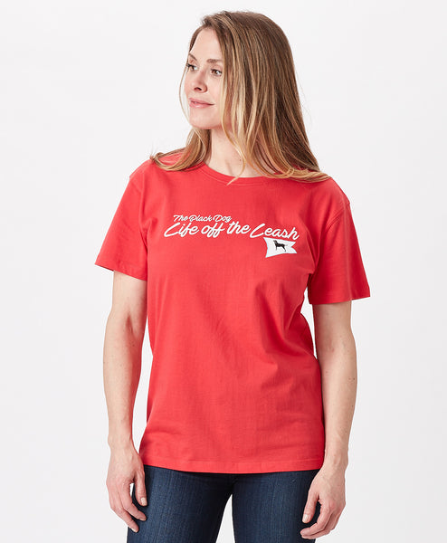 Ladies Life off the Leash Burgee SS Tee
