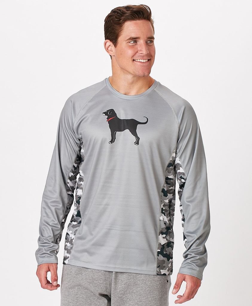 Mens Outfitters Longsleeve Tech Tee