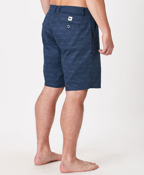 Mens Beachfront Fish Short