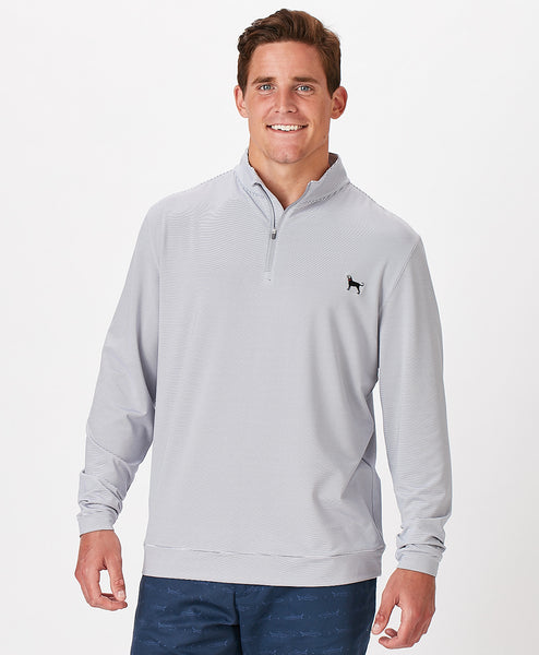 Mens Beachfront Pima Qtr. Zip