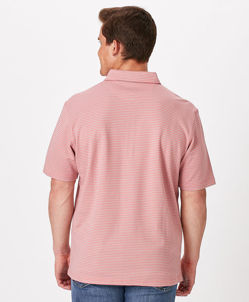 Mens Regatta Stripe Polo