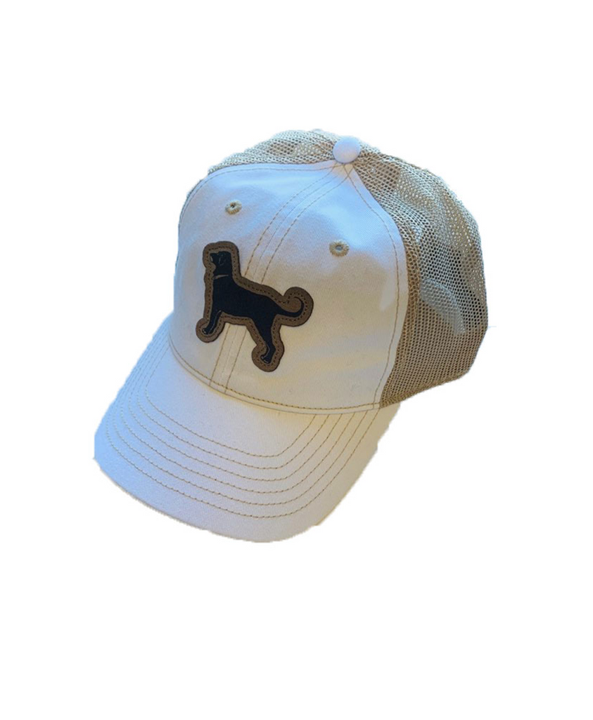 Mens Tea Stained Mesh Back Hat