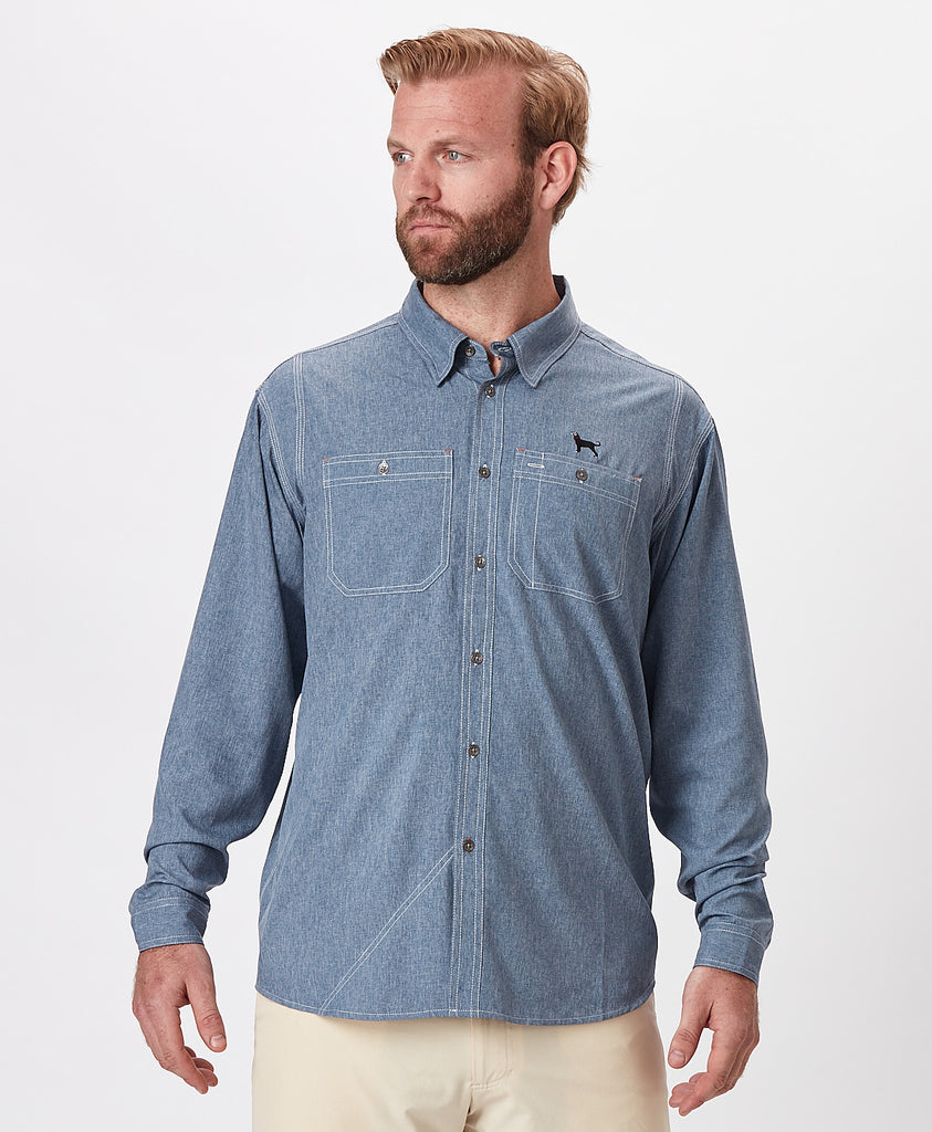 Mens Outfitters Fishing Shirt