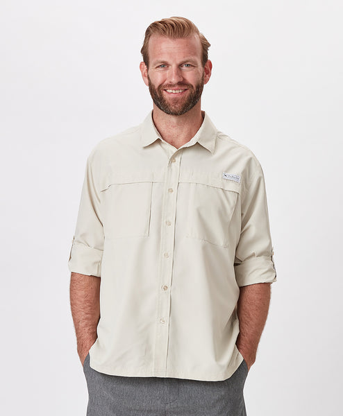 Mens Outfitters Roll Sleeve Fishing Shirt