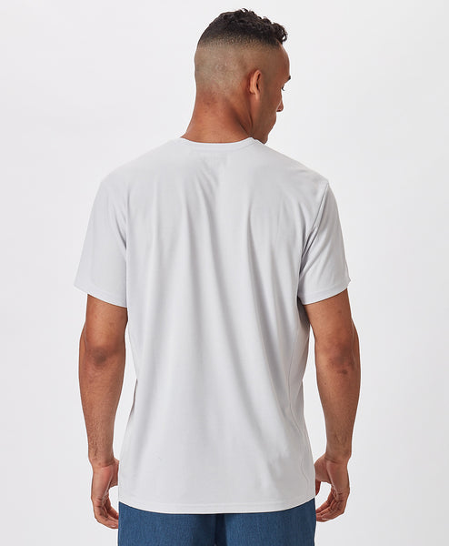 Mens Outfitters Shortsleeve Solid Tech Tee